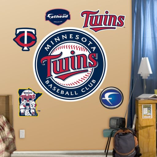 Fathead Minnesota Twins Wall Decals
