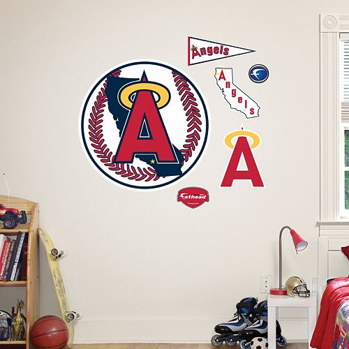Fathead Los Angeles Angels of Anaheim Wall Decals