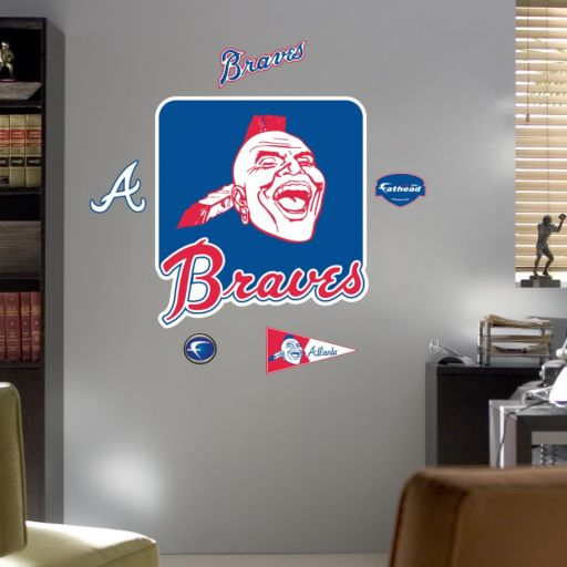 Fathead Atlanta Braves Wall Decals