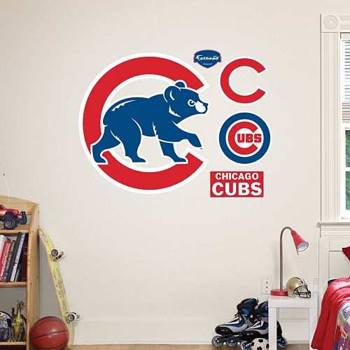 Fathead Chicago Cubs Wall Decals