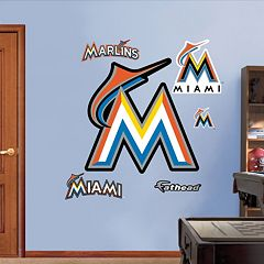 Fathead Miami Marlins Wall Decals