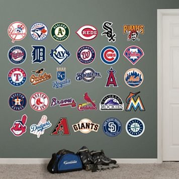 Fathead MLB Logo Collection Wall Decals
