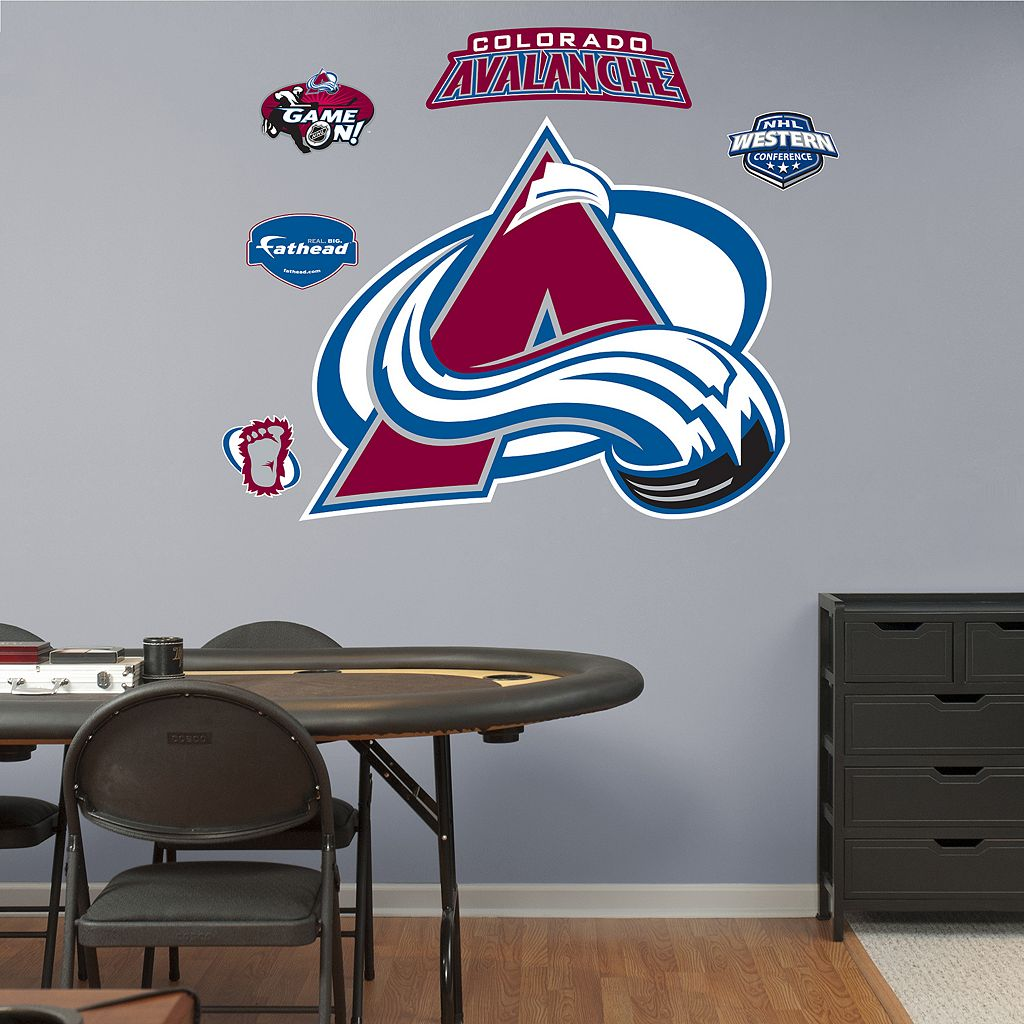Fathead Colorado Avalanche Wall Decals