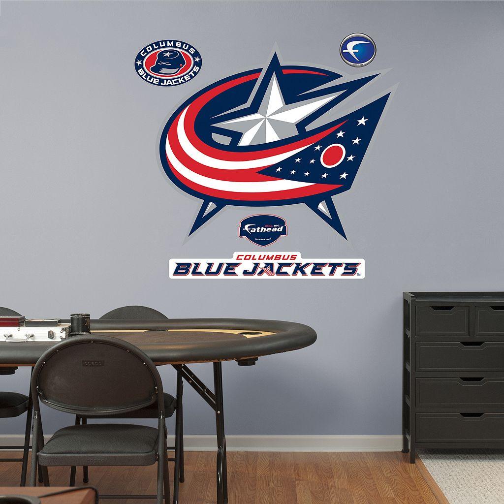 Fathead Columbus Blue Jackets Wall Decals