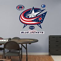 Fathead Columbus Blue Jackets Wall Decals