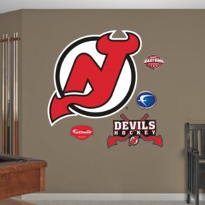 Fathead New Jersey Devils Wall Decals