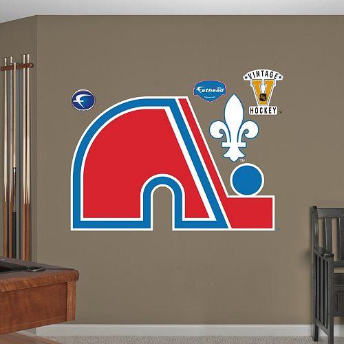 Fathead Quebec Nordiques Wall Decals