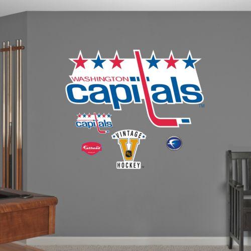 Fathead Washington Capitals Wall Decals