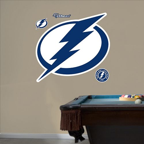 Fathead Tampa Bay Lightning Wall Decals