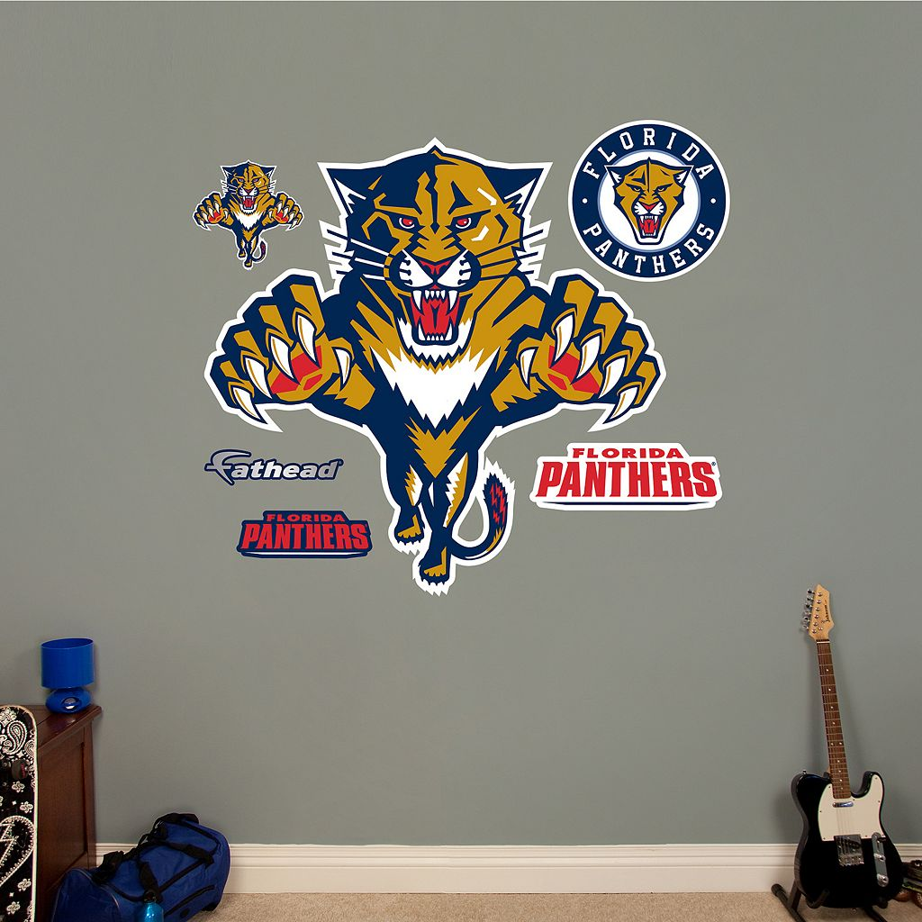 Fathead Florida Panthers Wall Decals