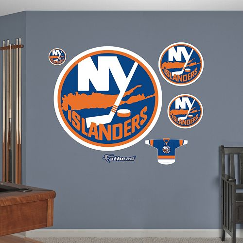 Fathead New York Islanders Wall Decals