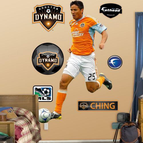 Fathead Houston Dynamo Brian Ching Wall Decals