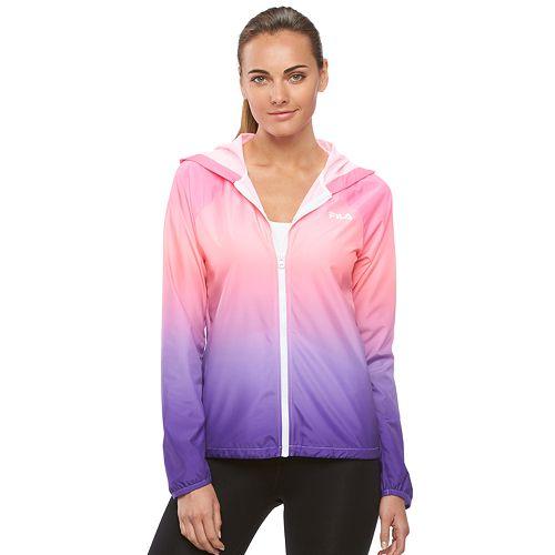 Women's FILA SPORT¨ Ombre Hooded Jacket