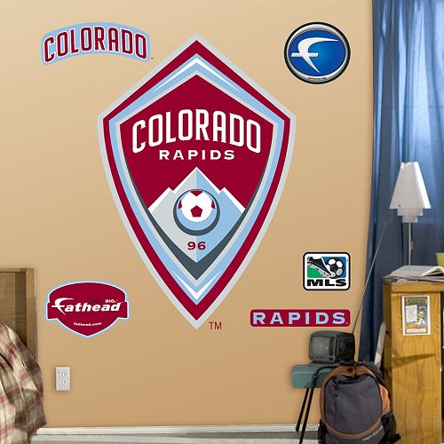 Fathead Colorado Rapids Wall Decals