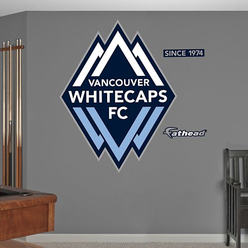 Fathead Vancouver Whitecaps FC Wall Decals