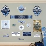 Fathead Vancouver Whitecaps FC 15-Piece Wall Decals