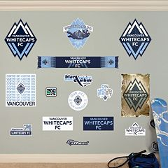 Fathead Vancouver Whitecaps FC 15 pc Wall Decals