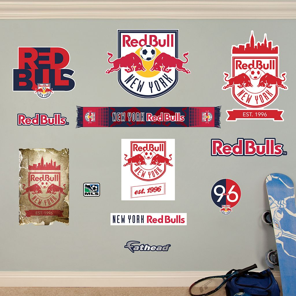 Fathead New York Red Bulls 13-Piece Wall Decals