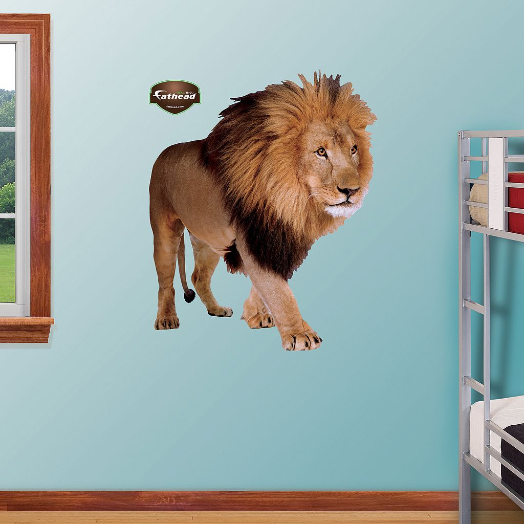 Fathead Lion Wall Decals