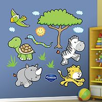 Fathead Jungle Animal Wall Decals