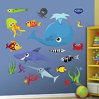 Fathead Sea Creature Wall Decals