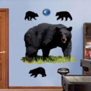 Fathead Black Bear Wall Decals