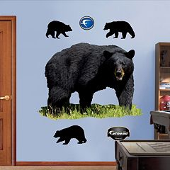 Fathead Black Bear Wall Decals