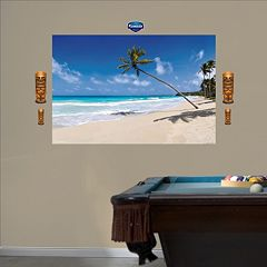Fathead Tropical Beach Wall Decals