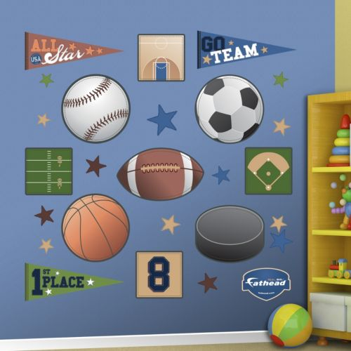 Fathead Sports Wall Decals