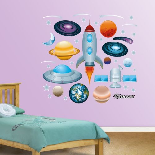 Fathead Outer Space Wall Decals