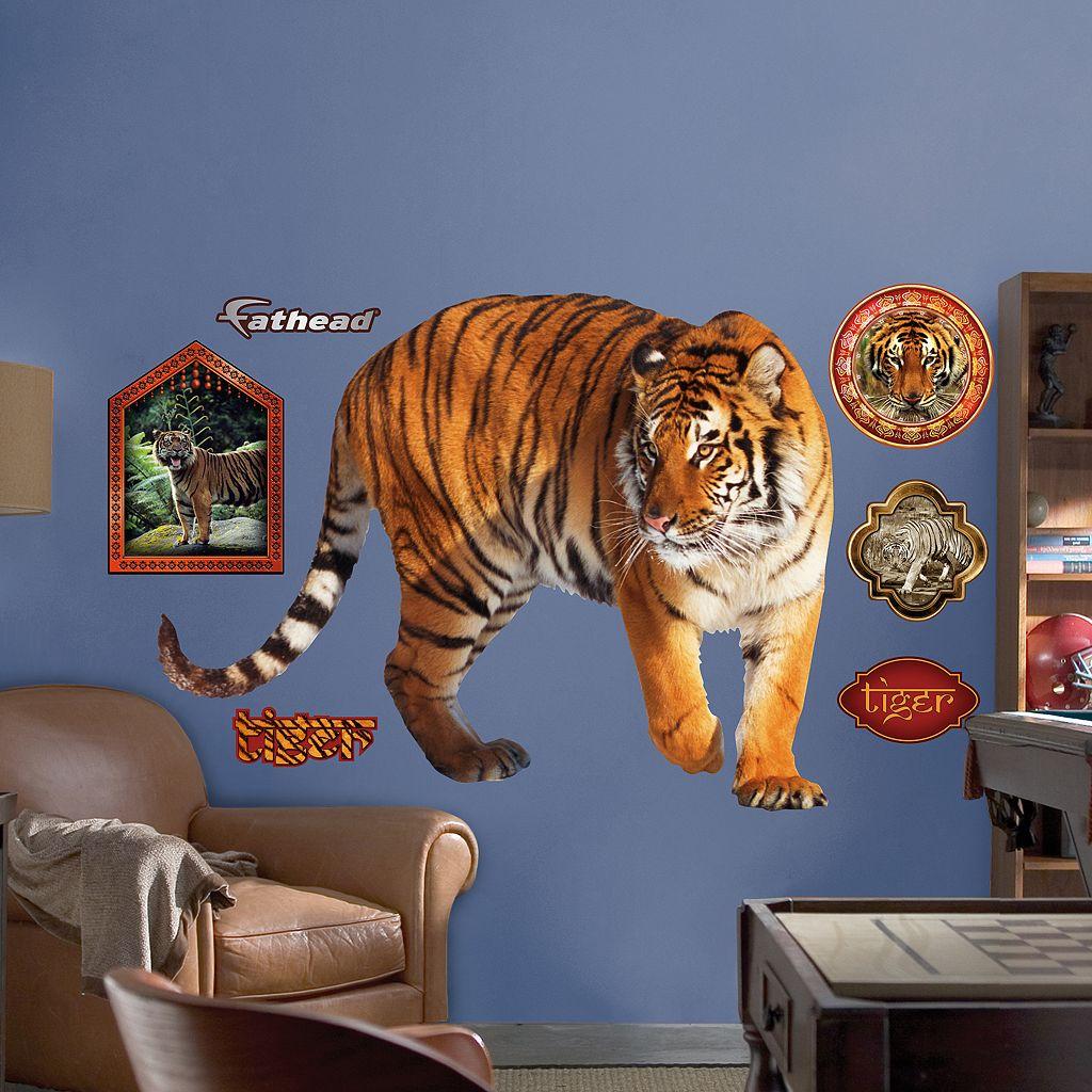 Fathead Tiger Wall Decals