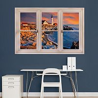Fathead Lighthouse Window Wall Decal