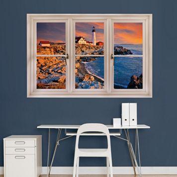 Fathead Lighthouse Window Wall Decal