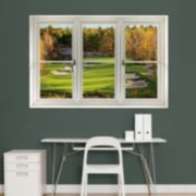 Fathead Golf Course Window Wall Decal