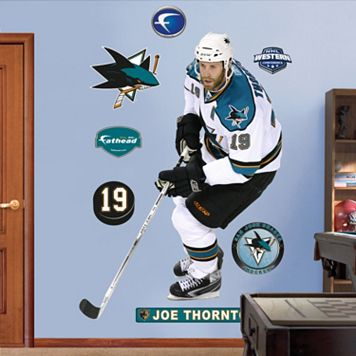 Fathead San Jose Sharks Joe Thornton Wall Decals