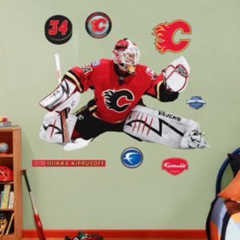 Fathead Calgary Flames Miikka Kiprusoff Wall Decals