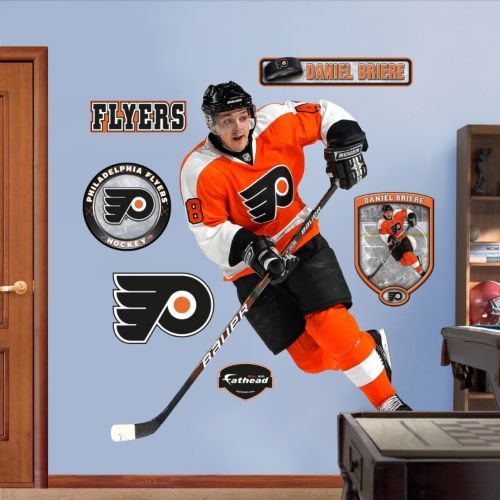 Fathead Philadelphia Flyers Daniel Briere Wall Decals