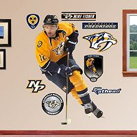 Fathead Nashville Predators Mike Fisher Wall Decals