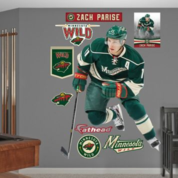 Fathead Minnesota Wild Zach Parise Wall Decals