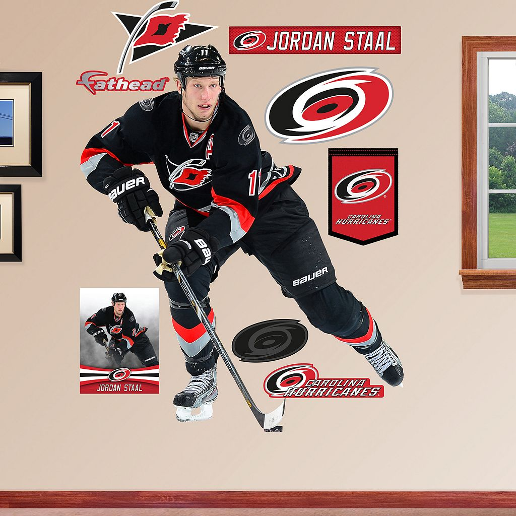 Fathead Carolina Hurricanes Jordan Staal Wall Decals