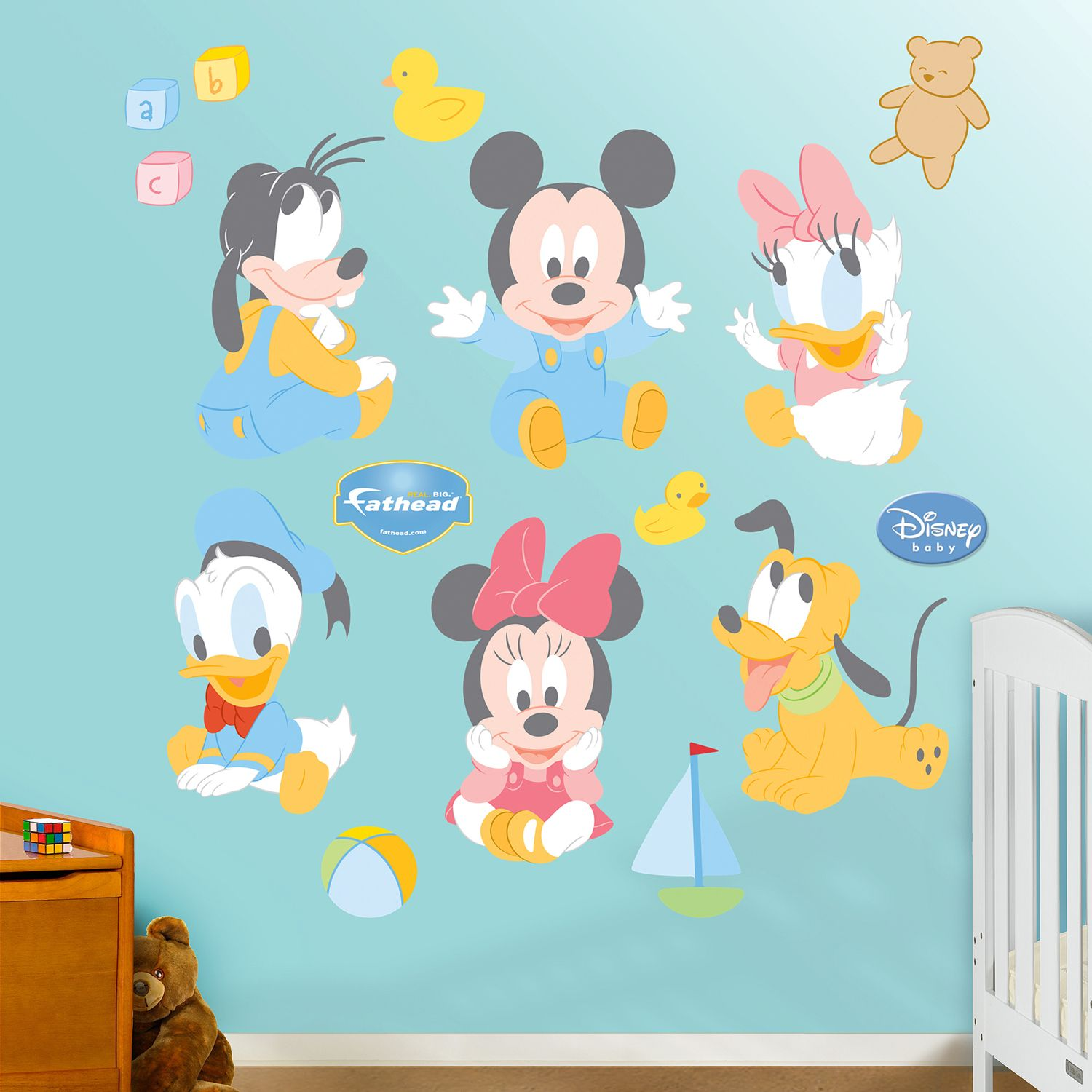 Disney Baby Mickey Mouse U0026 Friends Wall Decals By Fathead Part 28