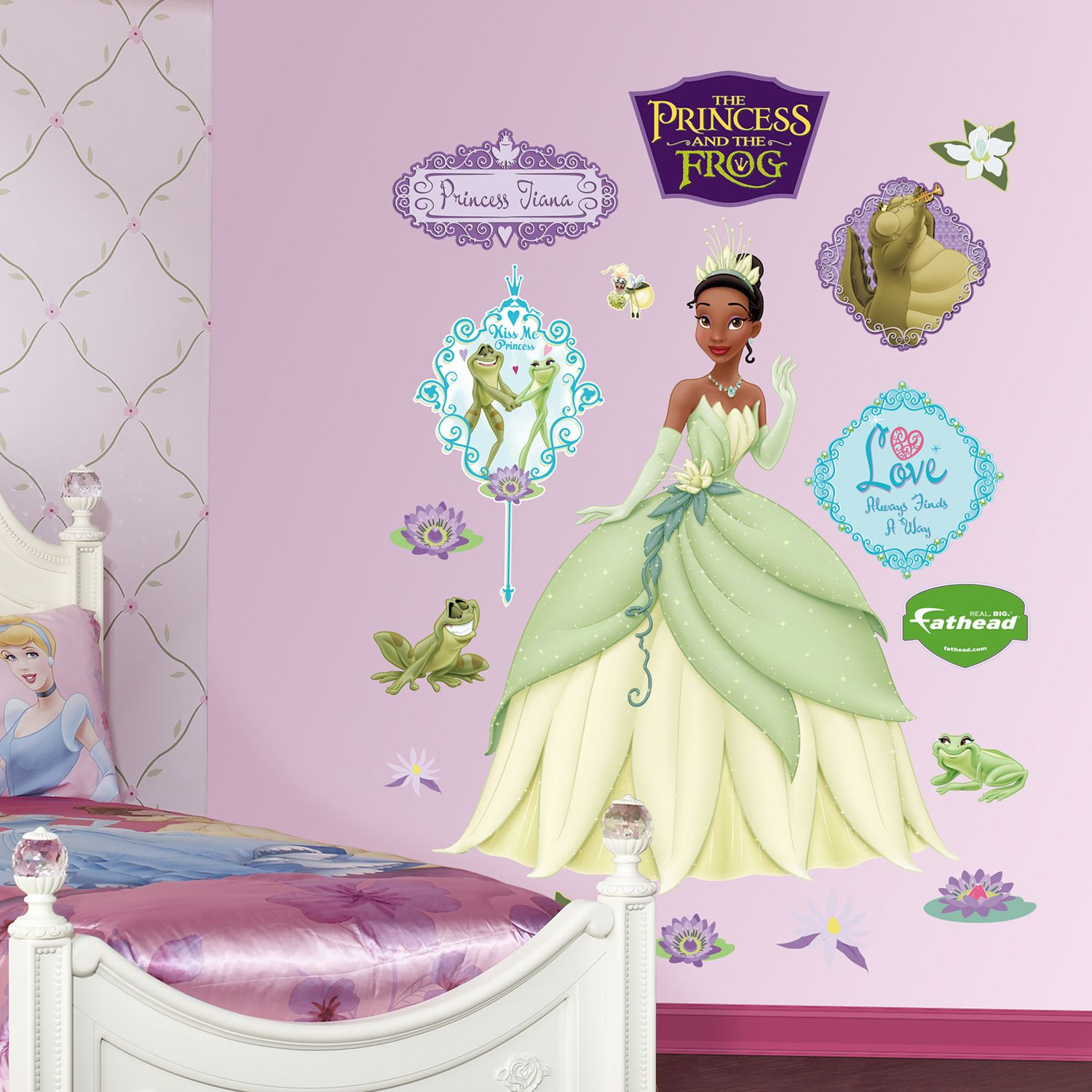 Great Disney Princess Tiana Wall Decals By Fathead Part 32