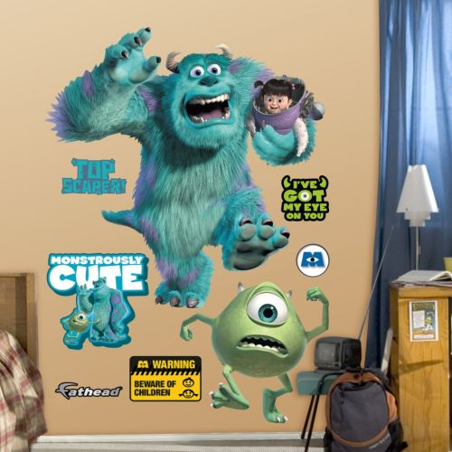 Disney / Pixar Monsters, Inc. Wall Decals by Fathead