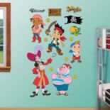 Disney Jake & the Never Land Pirates Character Wall Decals by Fathead