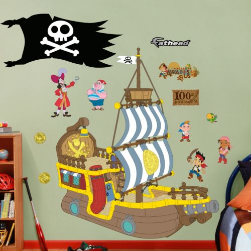 Disney Jake and the Never Land Pirates Wall Decals by Fathead