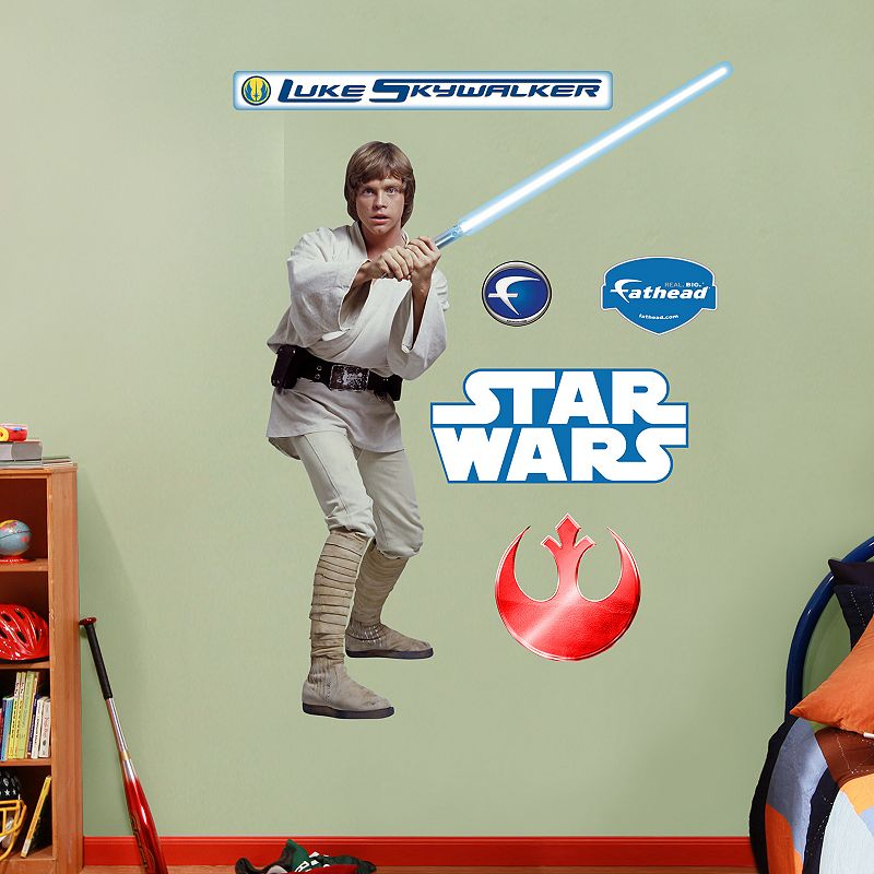 Star Wars Luke Skywalker Wall Decals by Fathead