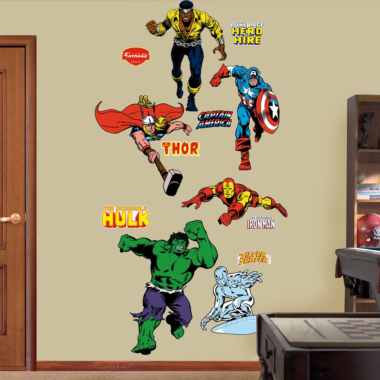 Super Hero Wall Decals - Wall Decals 2017