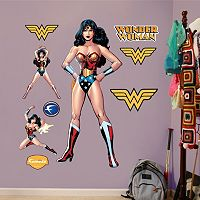 DC Comics Wonder Woman Wall Decals by Fathead