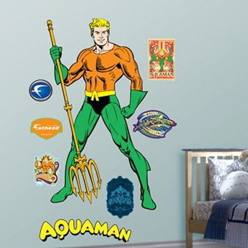 Aquaman Wall Decals by Fathead