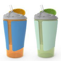 BornFree 2 pk10-ounce Grow with Me Straw Cups